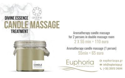 Kerzenmassage- Behandlung